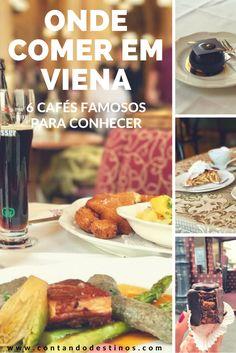 Onde comer em Viena. Dica de 6 cafés famosos para conhecer em Viena, para um almoço, lanche ou café da tarde. Aproveite mais sua viagem e estadia em Viena