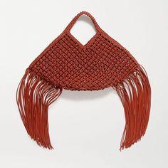 Fall Fashion Trends, Fall Trends, Autumn Fashion, Handmade Handbags, Handmade Bags, Diy Handbag, Macrame Design, Macrame Projects, Equestrian Style