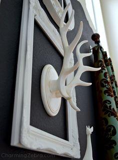 Framed Antlers