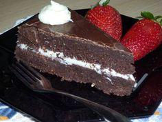 Hervé csokitortája cukor, vaj, liszt nélkül Pudding, Healthy, Desserts, Paleo, Food, Fitness, Tailgate Desserts, Deserts, Custard Pudding