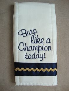 Irish Burp Cloth on Etsy, $12.99 My baby is so getting this one day!!