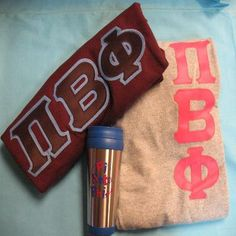 One of our on sale packs, available now. Click through to see how many are available (usually one) and for more information on the items included. It's practically a steal! Pi Beta Phi, Custom Greek Apparel, Sorority Outfits, Greek Clothing, Bid Day, Screen Printing, Greek Outfits, Screen Printing Press, Silk Screen Printing