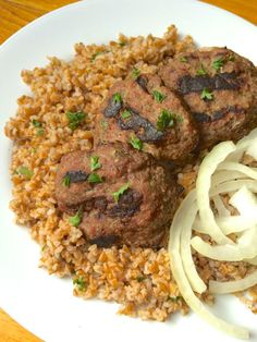 Lebanese Beef Kafta Patties - The Lemon Bowl