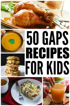 Looking for the best GAPS recipes for kids? Look no further! From simple breakfast and lunch ideas to fruit snacks, desserts, and creative ways to get kids to consume bone broth, we've rounded up 50+ GAPS recipes that are perfect for children and families alike. Using ingredients like coconut oil, almond flour, honey, and maple syrup, these recipes might be dairy free, sugar free, and low carb, but that doesn't mean they aren't delicious!