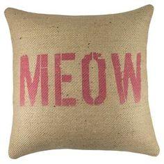 Meow Pillow