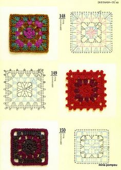 Mini squares with diagrams, page #17