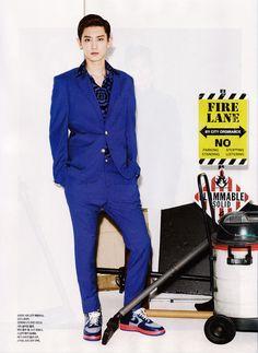 Chanyeol - LOfficiel Hommes Magazine August Issue 13