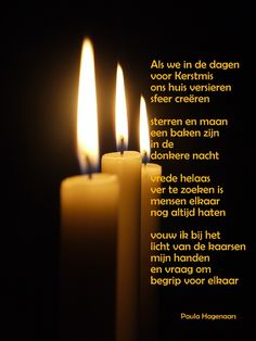 Gedicht advent nederlands
