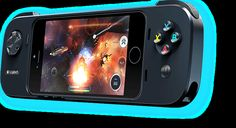 Say hello to console-style gaming on your iPhone. Introducing the #Logitech #Powershell. What will you play first?
