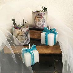 キャンドルも受付に飾りたいなと思って作製♡  #花嫁DIY #ウェディングキャンドル #ボタニカルキャンドル