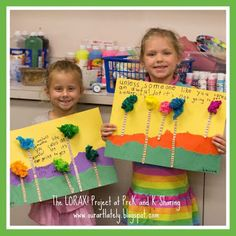 Seuss-tacular Earth Day Art Project (The Lorax) from Our Art Lately, at PreK+K Sharing. I need to look at this for Earth Week. Dr Seuss Activities, Earth Day Activities, Holiday Activities, Art Activities, Sequencing Activities, Activity Ideas, Dr. Seuss, Dr Seuss Week, Earth Day Projects