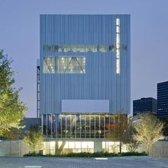 Dee and Charles Wyly Theatre - A theatre designed by Joshua Prince-Ramus of REX and Rem Koolhaas (2009).