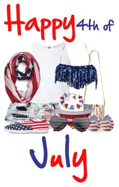 """Happy 4th of July!!!//Haley"" by galaxygirl678 ❤ liked on Polyvore featuring Steve Madden, Alice + Olivia, Dasein, Charlotte Russe and Carole"