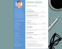 Professional Modern Resume Template For Ms Word Creative