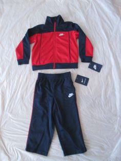 e3ef3ac7bc78b5 New Boy Set Nike Track Suit 2 Piece Set Jacket Pants Style with tags