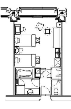 Standard Hotel Room Layouts Like At The Marriott Home