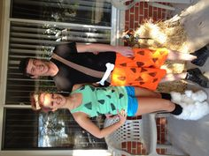 Halloween.. Pebbles and bam bam; must figure out a toddler and baby DIY