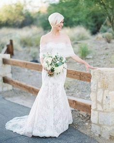 12 Second Wedding Dress Ideas For A 2nd Trip Down The Aisle ❤ second wedding dress mermaid lace straight neckline over 50 monique lhuillier #weddingforward #wedding #bride