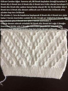 здравствуйте, дорогие рукодельницы :) Нашла в интернете интересный узор. Описание на турецком. Кажется простой, но все мои попытки вязать по фотографии ни к чему не привели. Поэтому обращаюсь к вам за помощью. Заранее благодарю :)