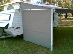 how to make a cheap canopy for trailer rv - Google Search…