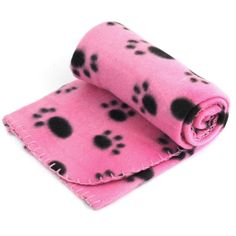 Mosunx Pet Dog Cat Blanket Lovely Paw Print Bed Soft Warm Fleece Sleep Mat Sofa Free Shipping *** Visit the image link more details. (This is an affiliate link and I receive a commission for the sales)