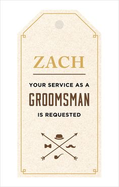 Groomsmen tags for the gift you give to your best men! Captured and Created By: Corinne Alexandra #weddingchicks http://www.weddingchicks.com/2014/06/27/diy-gift-for-the-fellas/