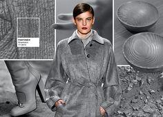 Pantone Fashion Color Report Fall 2016 - PANTONE 17-3914 Sharkskin. Photo by @fashionsnoops