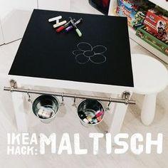 IKEA Lack Hack! Heute bei den HouseSisters: ein Crafting Table für Kids! Unser Maltisch!