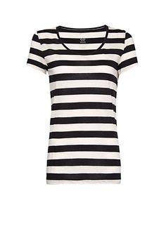 MANGO - Camiseta rayas