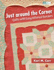 Any piece of your home decor can be given a new professional upgrade after you learn how to finish them with mitered corners. The patterns in this book from @Martingale / That Patchwork Place shows you how you can use this easy technique for all kinds of quilting patterns.