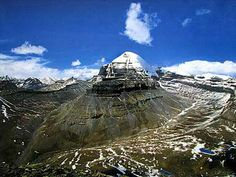 Mount Kailash (6,638 m / 21,778 ft) - a sacred place in four religions. It has never been climbed yet.