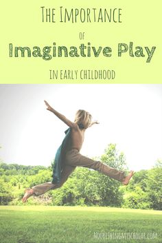 The Importance of Imaginative Play in Early Childhood: Imaginative play prepares children for the things they will face in life. Through play, kids learn how to work together, share, and negotiate. Children also develop problem-solving skills. via @preciouskitty23