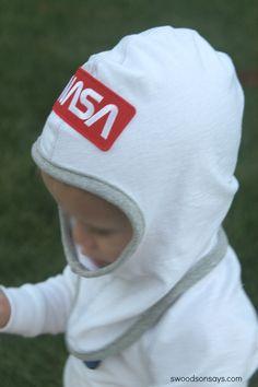 DIY Astronaut Costume - Halloween Hacks - Swoodson Says