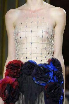 Ulyana Sergeenko Fall 2015 Haute Couture Detail