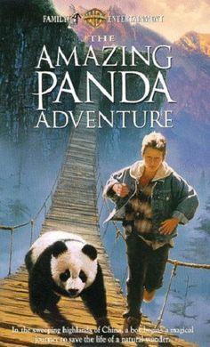 The Amazing Panda Adventure VHS