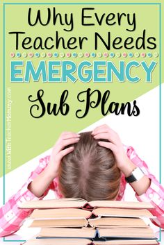 How To Produce Elementary School Much More Enjoyment Do You Really Need Emergency Sub Plans? The Answer Is Yes Get A Freebie To Help You Get Started And Learn More About Why It's So Important To Have Them. New Teachers, Elementary Teacher, Elementary Education, Upper Elementary, Planning School, Emergency Sub Plans, Teaching Kindergarten, Teaching Ideas, Teaching Tools