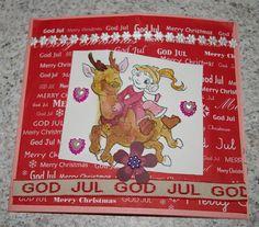 Anniken har laget julekort -- publisert i The Paper Crafting januar 2014: http://thepapercrafting.com/barnas-hjorne-anniken-7-ar-har-laget-julekort/
