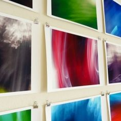 Follow this simple tutorial to spice up your home with some colorful DIY abstract wall art.