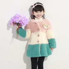Hot new design cotton padded long min fur coat for children kids girl 4-12y  Best Seller follow this link http://shopingayo.space