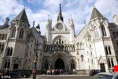 The Royal Courts of Justice, London. I went to school right down the street from this gorgeous building.