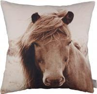 kissenhüllen linne pferd