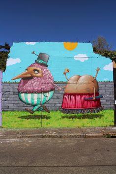 Ador & Semor.. . #streetart