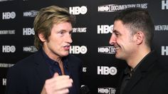 """""""Actor Denis Leary talks to #InTheLab host Arthur Kade at the HBO Docs premiere of """"Remembering the Artist Robert De Niro, Sr."""" about actor Robert De Niro's artistic father. He also talks about why he should make a film about his mother."""""""