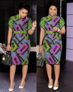 Latest Ankara Dress Styles - Loud In Naija Short African Dresses, Latest African Fashion Dresses, African Print Dresses, African Print Fashion, Africa Fashion, African Dress Styles, Ankara Fashion, African Style, Ankara Dress Styles
