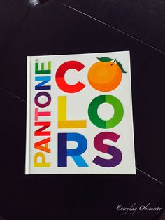 Flash Card Sets- Oversized Pantone Colour Cards {Pack of 18 ...