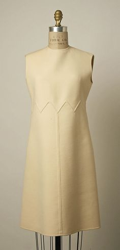 Valentino Ensemble (coat and dress), 1968