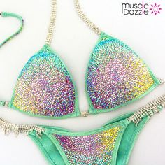 Mint Crystal Competition Bikini                                                                                                                                                     More