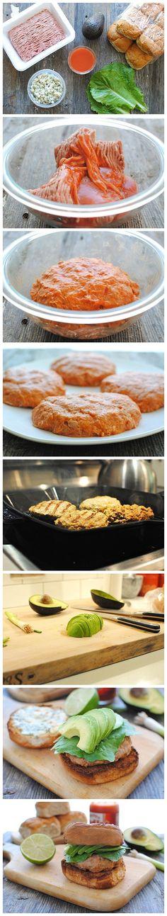 salsa verde turkey burgers | Food | Pinterest | Burgers, Turkey ...