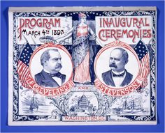 When you're done playing Flappy Bird, why not use your iPad for something even more fun? Win a free download of the America's Presidents app from the National Portrait Gallery.   Image: Cleveland-Stevenson inaugural ceremonies program, 1893. Grover Cleveland is the only President to have served two non-consecutive terms, first in 1885 and again later in 1893. He is, therefore, referred to as the 22nd and 24th President of the United States.