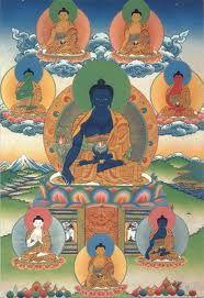 Medicine Buddha Thangka, Tibet